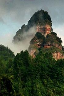 探寻的五指山风情——梅州五指山,武平梁野山汽车