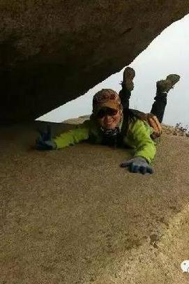 3月20日(周日),攀岩蒙山新版第一险猴见愁