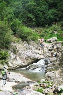 【越家军户外6.14周日】独家路线,开开谷溯溪一日游