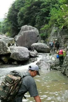【越家军户外6.7周日】大柳溪溯溪穿越一日游