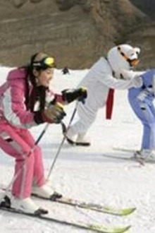 1月11号(周日)邹城峄山滑雪