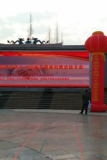 2015年龙南县外出务工人员返乡洽谈大会-情人节相亲大会