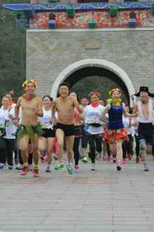 龙水湖半程马拉松组队中
