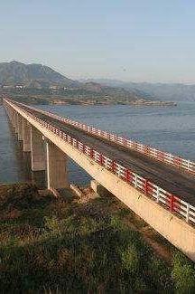 1月1日渑池南村黄河大桥一览黄河风光、体验钓鱼乐趣