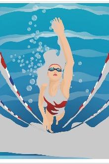 2015-6-20(周六)三林游泳馆游泳