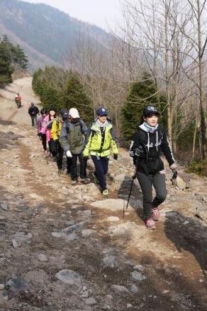 (上海野友户外)12.25四明山小环线单日徒步