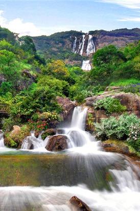 8.9号 登天南第一梯、白水寨赏中国最大瀑布一天游