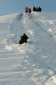 2月6月将军山登高远眺、山顶野雪速滑户外一日