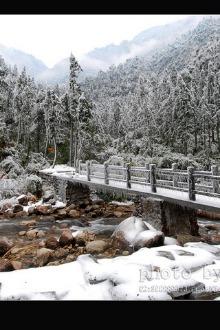 降雪天气魅力贺州姑婆山景区旅游