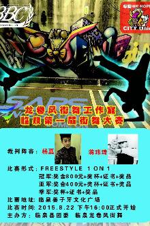 临泉县第一届龙卷风杯全民街舞大赛