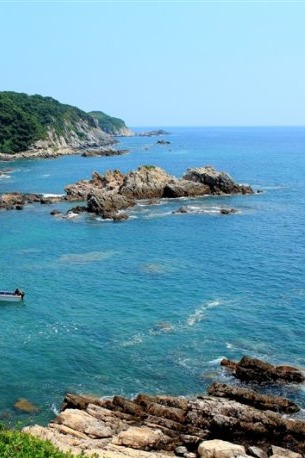 9月24日,深圳桔钓沙海岸线穿越