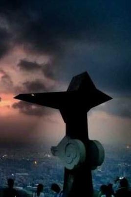 周三 夜登白云山  星星知我心,看尽天下皆坦途