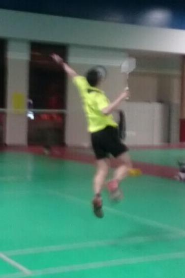 星期二铸信羽毛球打球活动
