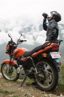 摩托车骑行红安县二日游