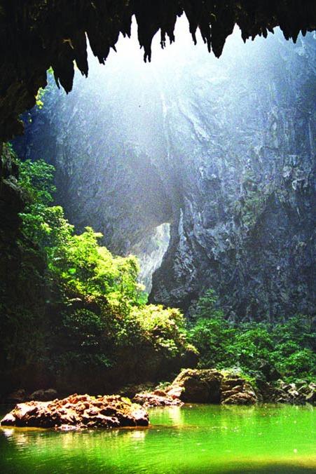 清远英西峰林徒步、探索神秘千年瑶寨,瑶族篝火晚会