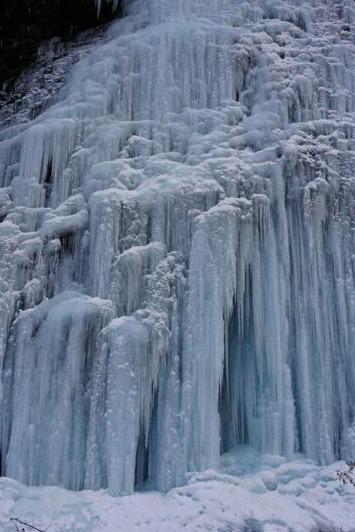 12.31日-1.2最大的冰瀑观景点—虎牙大冰瀑
