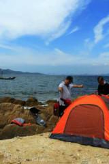 安东户外:6月4日金沙滩+竹岔岛之海钓、赶海二日行