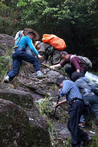 石谷解1803登顶活动