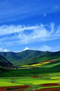 临夏—甘南玛曲草原