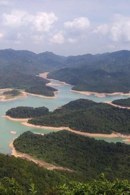 3月5日中山最美长江水库狮头岭活动