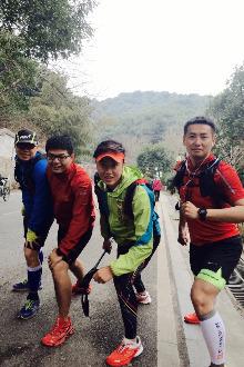 6.28日星期天早上五点岳麓山越野15公里。