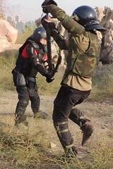 海绵武器格斗训练