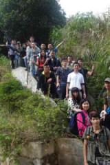 徒步广州最经典的登山线路火凤线