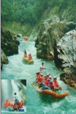 夏日激情狂欢 猛洞河生态漂流一日游
