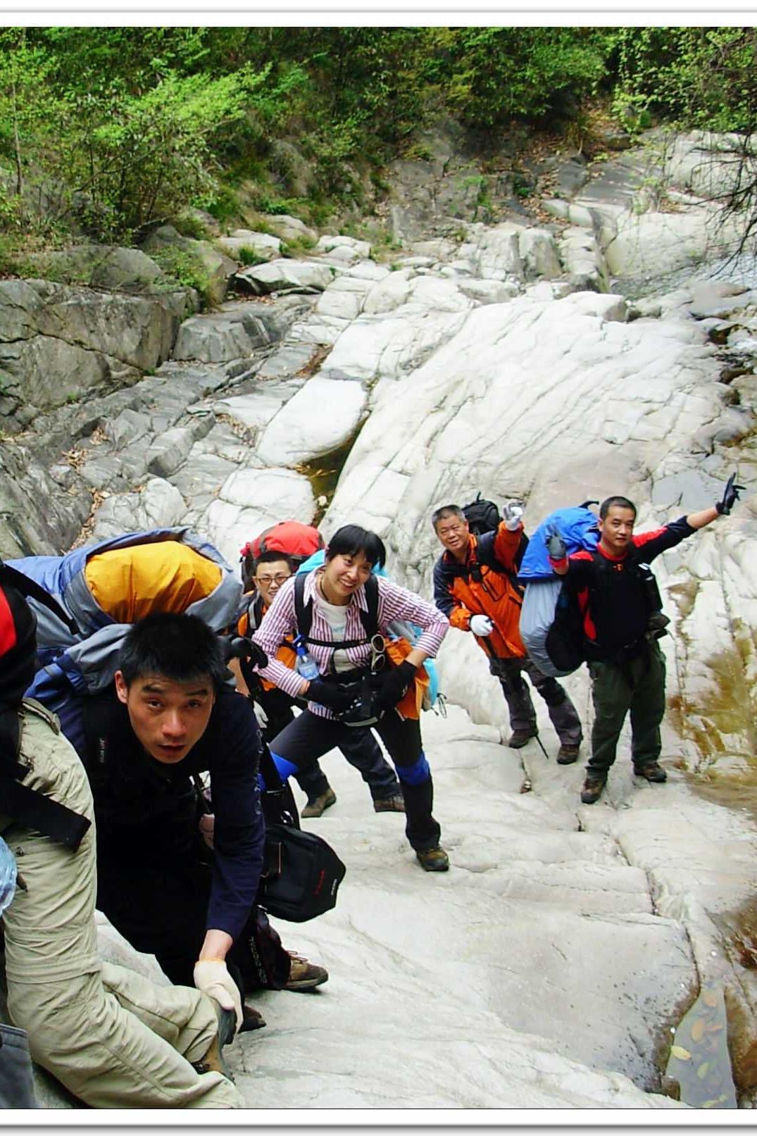9月12-9月13龙井河狼牙谷重装穿越 林间露营体验