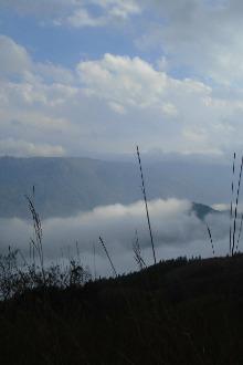 1月11号周日徒步穿越蝴蝶谷