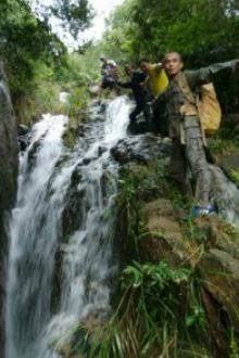 黄杨山第一瀑布群高强度穿越