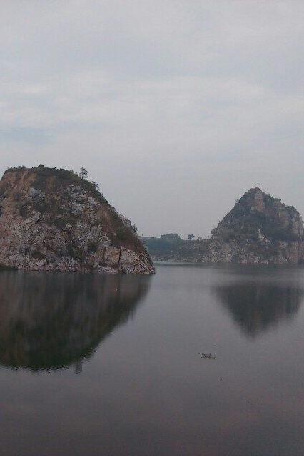12月13日徒步苏州大峡谷,赏景西山小桂林