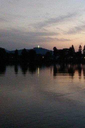 7.30夜徒石湖