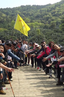 11月8日阳树线爬山活动