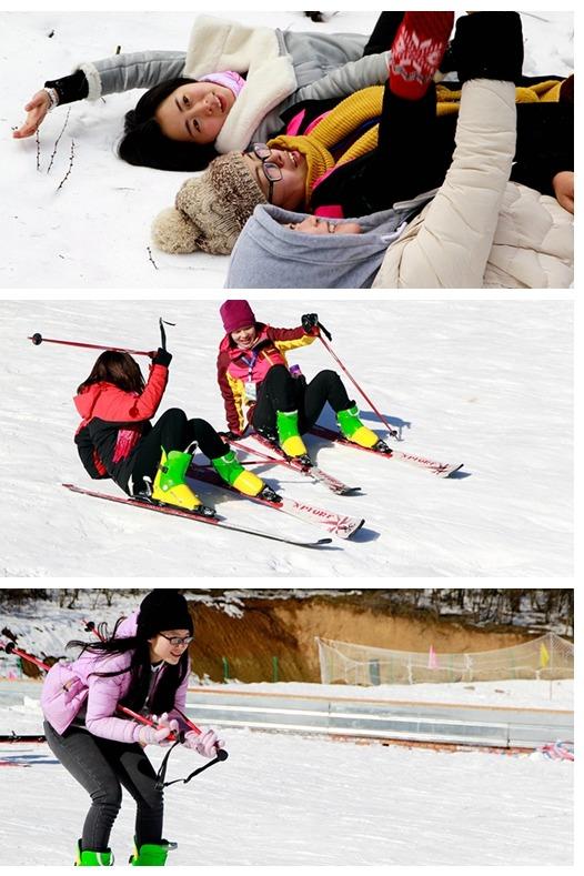 288 不限时滑雪,雪橇,雪圈免费玩