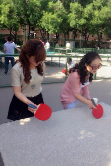 一起师大打乒乓球(免费)
