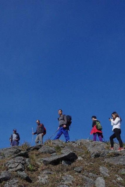 10月29日登高白凿山徒步穿越一日游