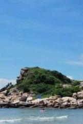惠东狮子岛海岸线穿越美丽海岸线