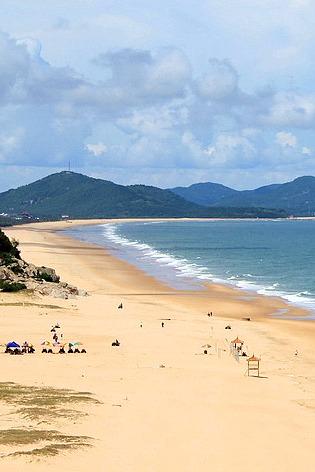 阳江海陵岛十里银滩首次露营