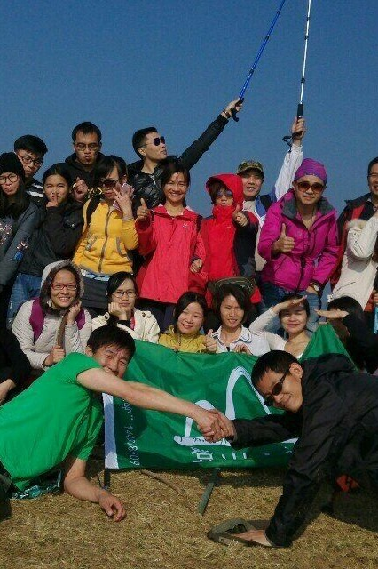 11月27日登广州从化第一高峰天堂顶