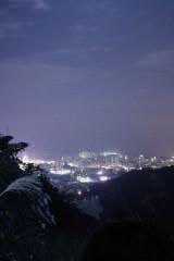 夜爬板樟山俯瞰拱北澳门夜景(行者01号线)
