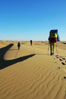 5.1内蒙古库布其沙漠东线穿越