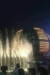 【11.01周二】市民中心看喷泉夜走三桥