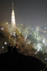 【11.04周五】夜爬宝石山,赏最美西湖夜景