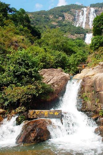 增城绿道踩单车、天南第一梯、白水寨瀑布 生态之旅