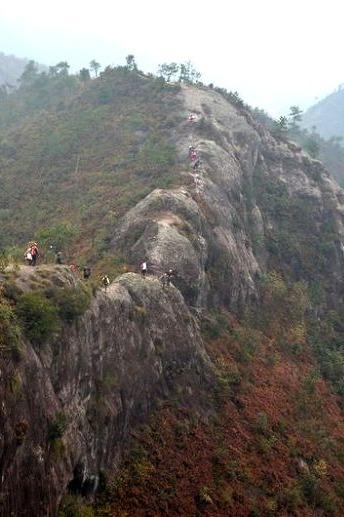 (清明)最美山脊-缙云小仙都山脊穿越