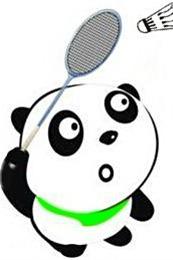 男A女免打羽毛球了