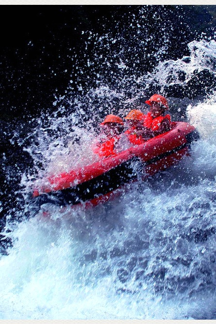 红峡谷漂流(川西第一漂)