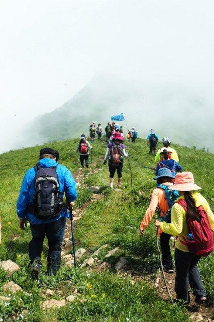 7月15夜爬海坨山观星海看日出aa活动欢迎新人