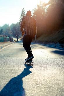 镇远滑板交流活动